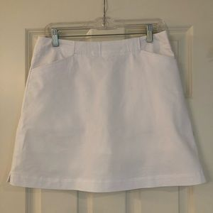 White Nike Golf Skort EUC